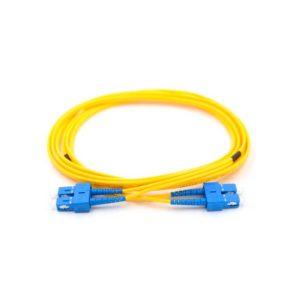 patch cord optico duplex sm sc sc upc